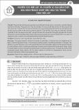 Nghiên cứu nội lực và chuyển vị của dầm thép khi hình thành khớp dẻo chịu tải trọng thay đổi lặp