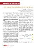 Xây dựng bản đồ công nghệ ngành sản xuất vắcxin Việt Nam