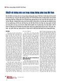 Khoa học và Công nghệ với những mốc son trong chặng đường ghép tạng Việt Nam