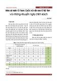 Đánh giá nhân tố Trung Quốc với nền kinh tế Việt Nam và những khuyến nghị chính sách