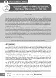 Nghiên cứu cơ sở lý thuyết phục vụ tính toán, thiết kế máy đào hầm loại tiết diện tròn