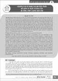 Nghiên cứu sử dụng Polime siêu thấm  để giảm co ngót tự sinh của bê tông chất lượng siêu cao