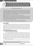 Áp dụng phương pháp phân tích thứ bậc (AHP) để lựa chọn loại hợp đồng dự án sử dụng trong dự án thực hiện theo hình thức đối tác công tư