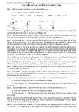 Bài tập Hóa học lớp 9 - Chương 2 Kim Loại