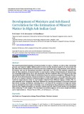 Development of Moisture and Ash Based Correlation for the Estimation of Mineral Matter in High Ash Indian Coal