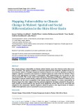 Mapping Vulnerability to Climate Change in Malawi: Spatial and Social Differentiation in the Shire River Basin