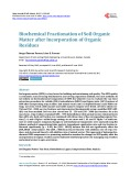 Biochemical Fractionation of Soil Organic Matter after Incorporation of Organic Residues