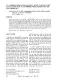 Tỷ lệ hiện mắc bệnh đái tháo đường ở người 45-69 tuổi và một số yếu tố liên quan tại thị trấn Sa Thầy, huyện Sa Thầy, tỉnh Kon Tum năm 2016
