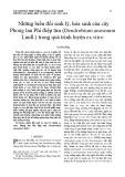 Những biến đổi sinh lý, hóa sinh của cây Phong lan Phi điệp tím (Dendrobium anosmum Lindl.) trong quá trình luyện ex vitro