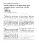 Đặc điểm địa chất, chất lượng và ứng dụng trong gạch ceramic của feldspar vùng Tây Nguyên