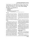 Ảnh hưởng của chất điều hòa tăng trưởng thực vật lên sự ra hoa in vitro ở cây Cẩm chướng Dianthus caryophyllus L.