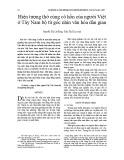 Hiện tượng thờ cúng cô hồn của người Việt ở Tây Nam bộ từ góc nhìn văn hóa dân gian