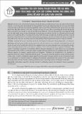 Nghiên cứu xây dựng thuật toán tối ưu hóa diện tích chịu lực của cột chống trong thi công sàn bằng tổ hợp đà giáo ván khuôn