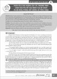 Phân tích ảnh hưởng của các phương pháp chọn mẫu tới kết quả đánh giá độ nhám và độ bằng phẳng mặt đường bê tông nhựa