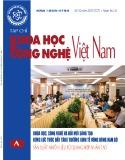 Tạp chí Khoa học và Công nghệ Việt Nam – Số 10A năm 2019