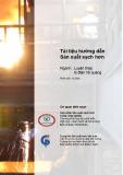 Tài liệu hướng dẫn Sản xuất sạch hơn: Ngành Luyện thép lò điện hồ quang