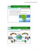 Bài giảng Sản xuất sạch hơn trong công nghiệp – Bài 9: Sản xuất sạch hơn & quản lý môi trường