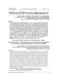 Ảnh hưởng của nồng độ pha tạp Ion Cr3+ đến tính chất quang của vật liệu ZnAl2O4:Mn2+ chế tạo bằng phương pháp sol-gel