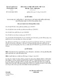 Quyết định số 32/2019/QĐ-UBND tỉnh QuảngNinh