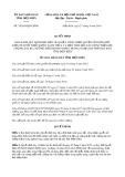 Quyết định số 34/2019/QĐ-UBND tỉnh ĐiệnBiên
