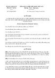 Quyết định số 243/2019/QĐ-UBND tỉnh SócTrăng