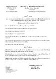 Quyết định số 18/2019/QĐ-UBND tỉnh LaiChâu