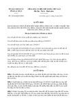 Quyết định số 23/2019/QĐ-UBND tỉnh LaiChâu