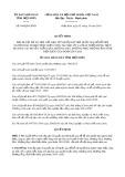 Quyết định số 944/2019/QĐ-UBND tỉnh ĐiệnBiên