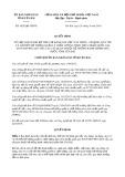 Quyết định số 1628/2019/QĐ-UBND tỉnh YênBái