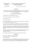 Quyết định số 32/2019/QĐ-UBND tỉnh GiaLai
