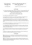 Quyết định số 399/2019/QĐ-UBND tỉnh QuảngNinh