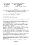 Quyết định số 173/2019/QĐ-UBND tỉnh KhánhHòa