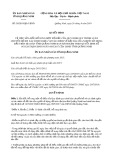 Quyết định số 30/2019/QĐ-UBND tỉnh QuảngNinh