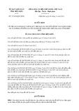 Quyết định số 37/2019/QĐ-UBND tỉnh ĐiệnBiên