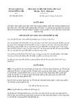 Quyết định số 5905/2019/QĐ-UBND TP HàNội