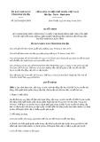 Quyết định số 26/2019/QĐ-UBND tỉnh BìnhThuận