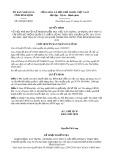 Quyết định số 299/2019/QĐ-UBND tỉnh BìnhĐịnh