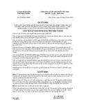 Quyết định số 1529/2019/QĐ-UBND tỉnh Ninh Thuận