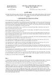 Quyết định số 874/2019/QĐ-UBND tỉnh TuyênQuang
