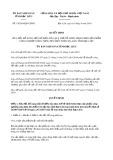 Quyết định số 19/2019/QĐ-UBND tỉnh BạcLiêu