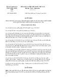 Quyết định số 180/2019/QĐ-UBND tỉnh ThừaThiênHuế