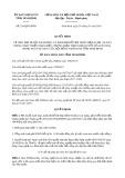 Quyết định số 216/2019/QĐ-UBND tỉnh NinhBình