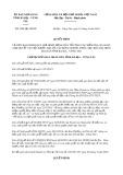Quyết định số 2504/2019/QĐ-UBND tỉnh BàRịa-VũngTàu