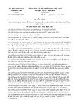 Quyết định số 39/2019/QĐ-UBND tỉnh BếnTre