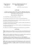 Quyết định số 45/2019/QĐ-UBND tỉnh Long An