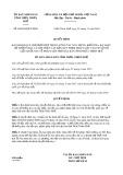 Quyết định số 68/2019/QĐ-UBND tỉnh ThừaThiênHuế