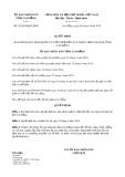 Quyết định số 41/2019/QĐ-UBND tỉnh CaoBằng
