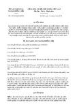 Quyết định số 15/2019/QĐ-UBND TP HàNội