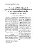 Thành phần thức ăn của cua biển Scylla paramamosain trong môi trường tự nhiên và nuôi trong ao ở rừng ngập mặn Cần Giờ, TP. Hồ Chí Minh