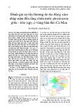 Đánh giá sự tổn thương do tác động xâm nhập mặn đến tầng chứa nước pleistocene giữa - trên (qp2-3) vùng bán đảo Cà Mau